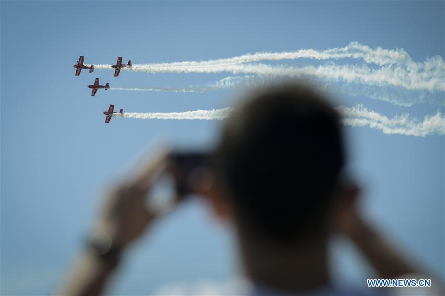 Highlights of 2018 Poznan Air Show in Poland