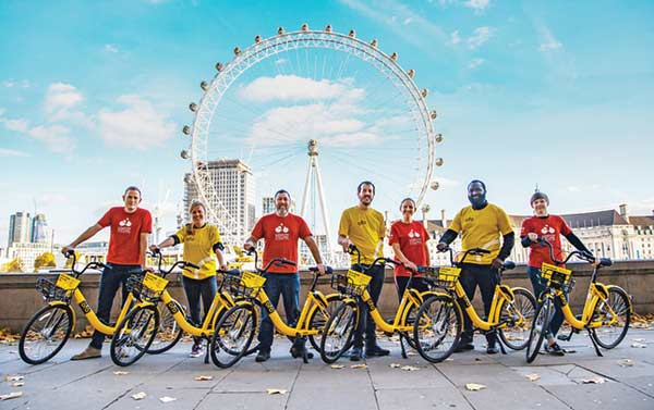Britain's drive to become a nation of cyclists boosted