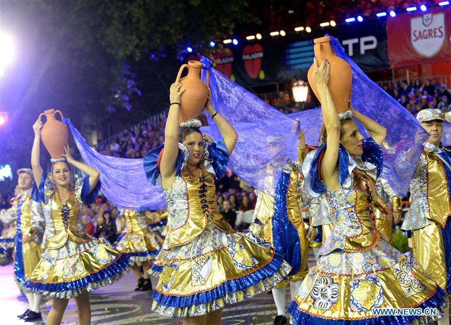 Lisbon celebrates Saint Antony's day with parade