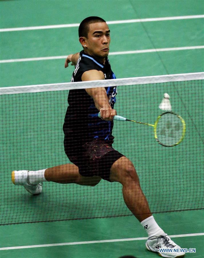 Highlights of quarterfinal matches at U.S. Open Badminton Championships