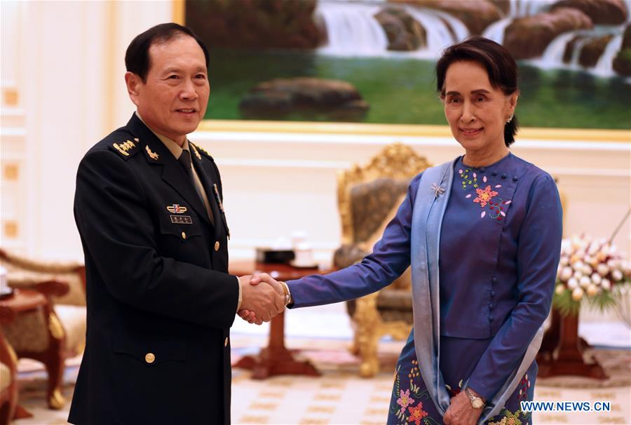 Aung San Suu Kyi meets senior Chinese official on bilateral ties