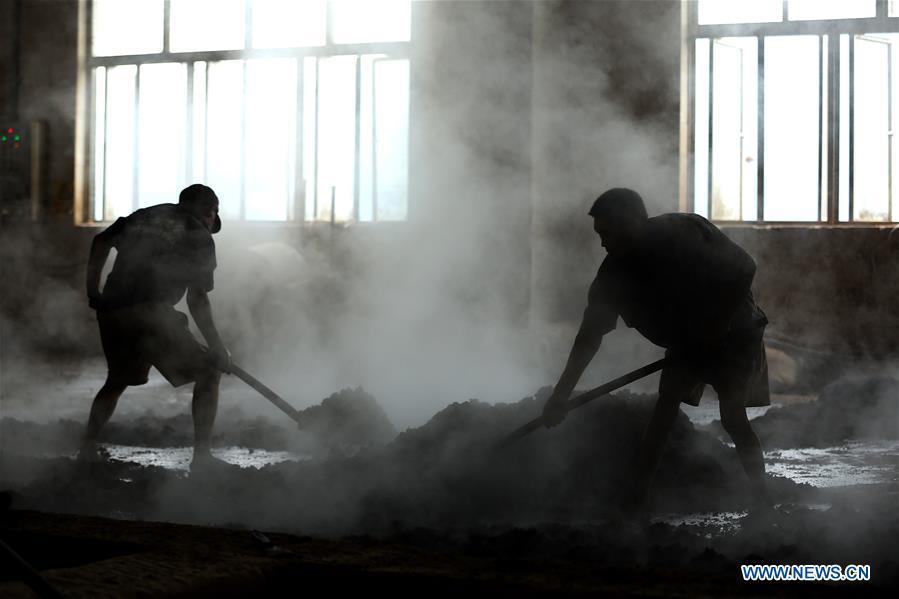 Traditional methods to make jiuqu in China's Guizhou