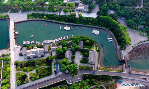 Scenery of Penglai in China's Shandong