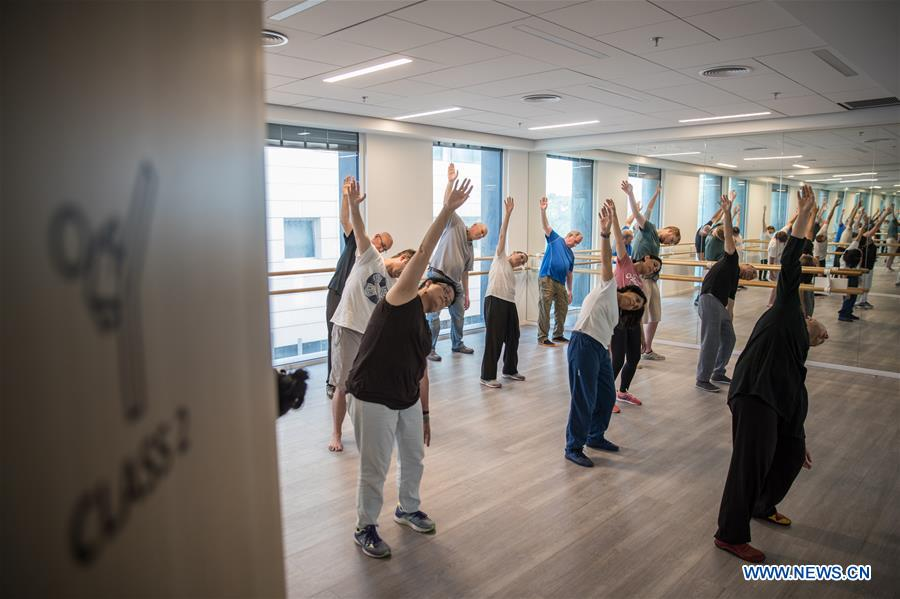 Israelis learn Tai Chi at Chinese Cultural Center in Tel Aviv