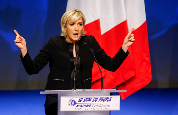EU court orders French far-right leader to repay 300,000 euros to European Parliament