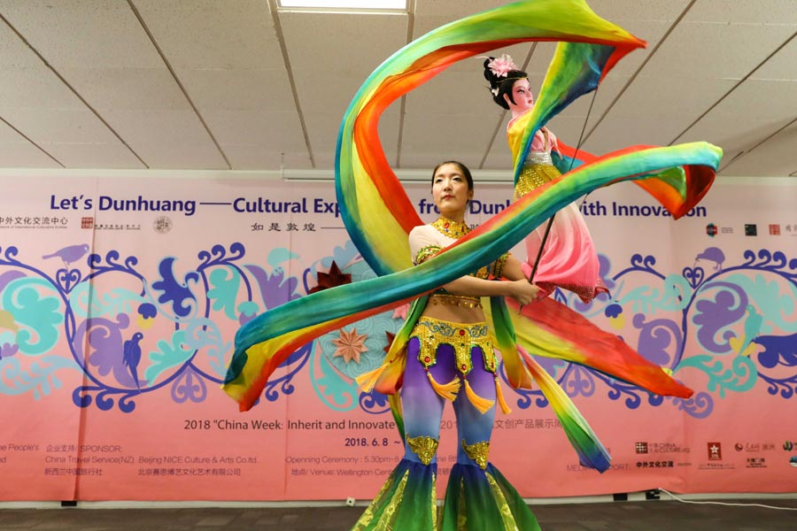 China Week in New Zealand reveals secrets of Dunhuang
