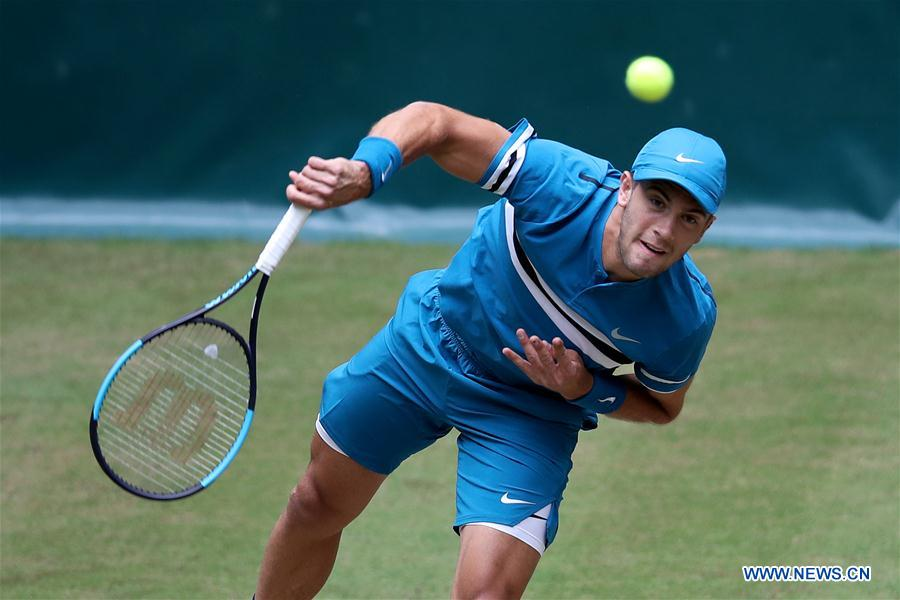 Borna Coric enters final of Gerry Weber Tennis Open
