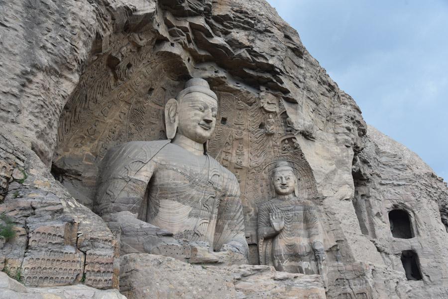 Yungang Grottoes: Buddhist caves house art treasures