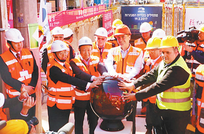 Chinese railway technologies promoting light rail construction in Israel