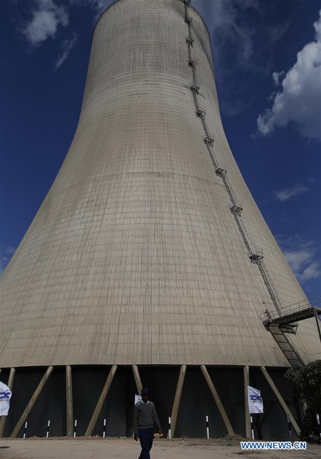 Zimbabwe commissions construction of Chinese-funded power plant