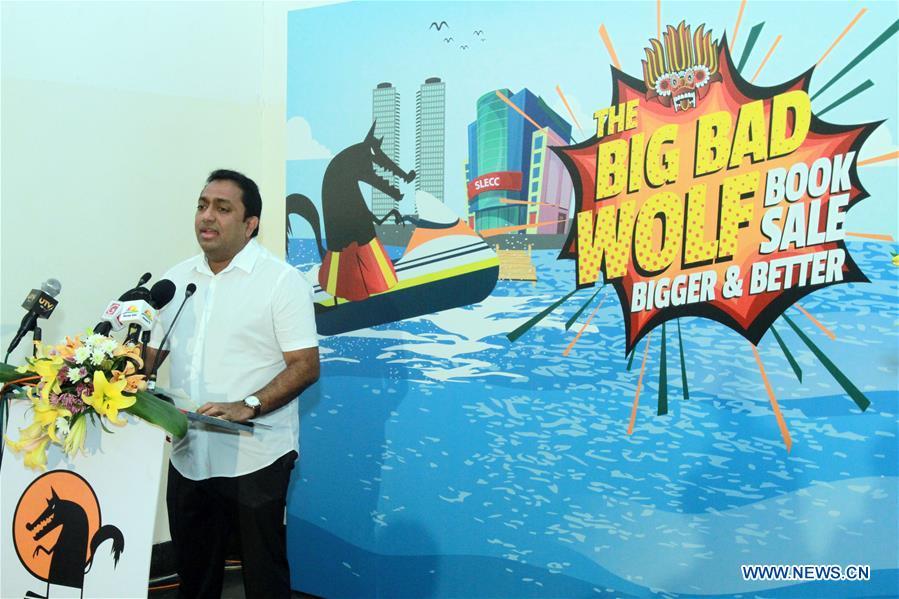 Book fair Big Bad Wolf Sale kicks off in Sri Lanka's Colombo