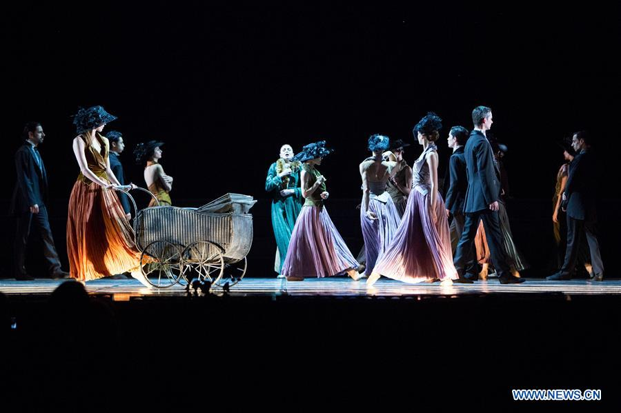 "Ballet ""Messrs. Glembay"" performed in Pula, Croatia"