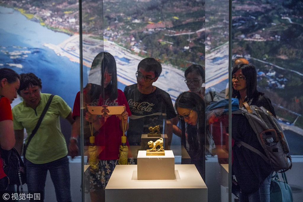 Sunken Chinese treasure lands on museum shelves in Beijing