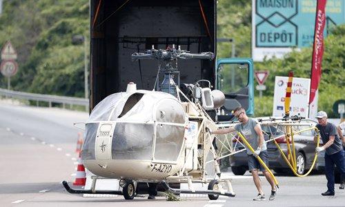 'Defective' security eyed in chopper jailbreak in France