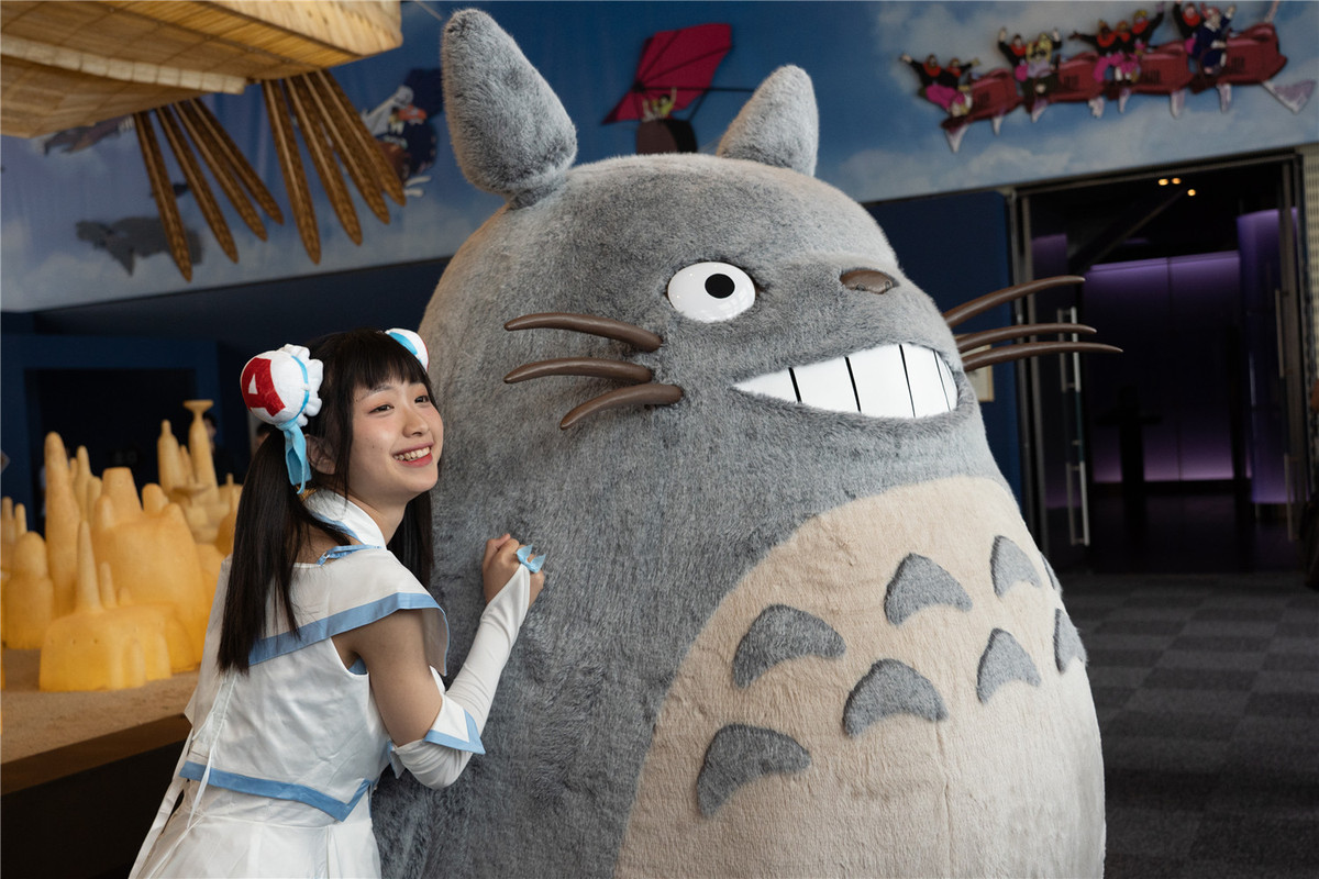 Ghibli's animated figures come to town