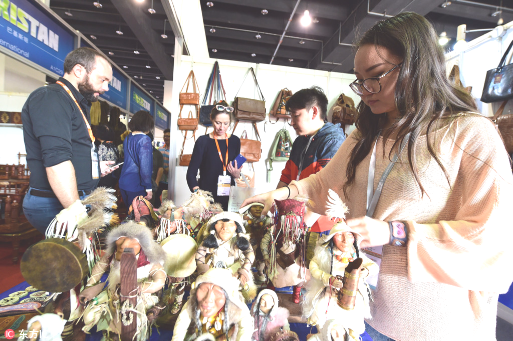 Trade fair opens in Ulan Bator to boost Mongolia-China's trade cooperation