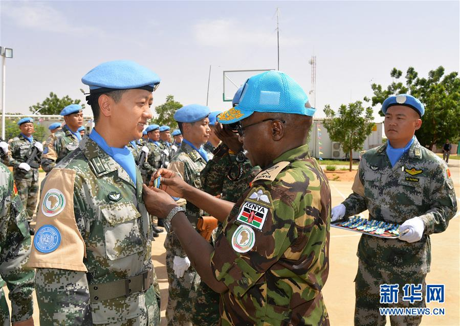 China's first peacekeeping helicopter unit awarded UN Peace Medal of Honor