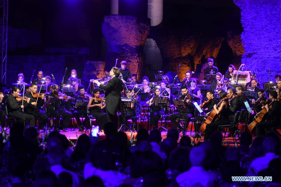 """Silk Road"" symphonic concert held in Tunis, Tunisia"