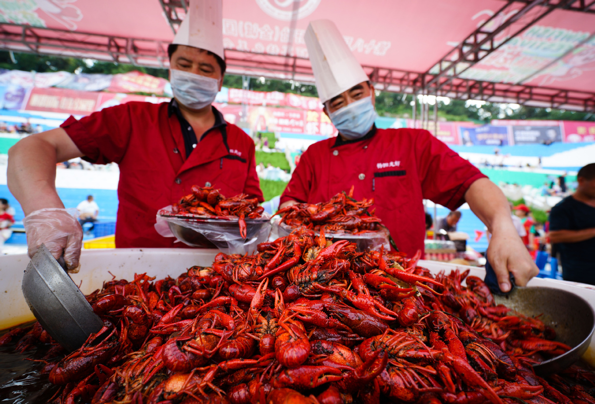 Demand for crawfish knows no bounds