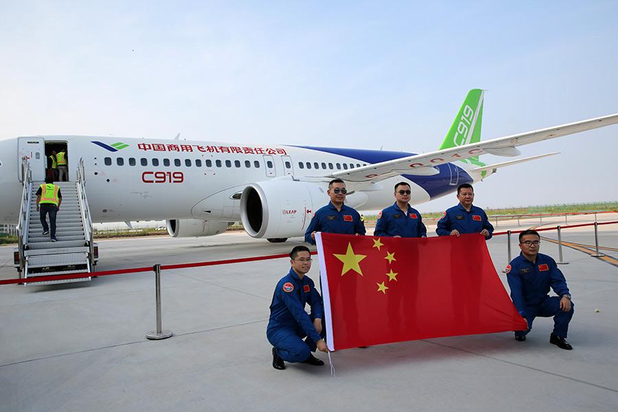 C919 jet undergoes rigorous testing