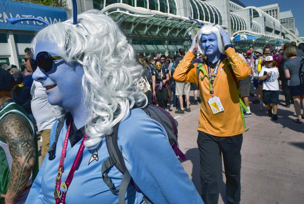 Comic-Con International held in San Diego