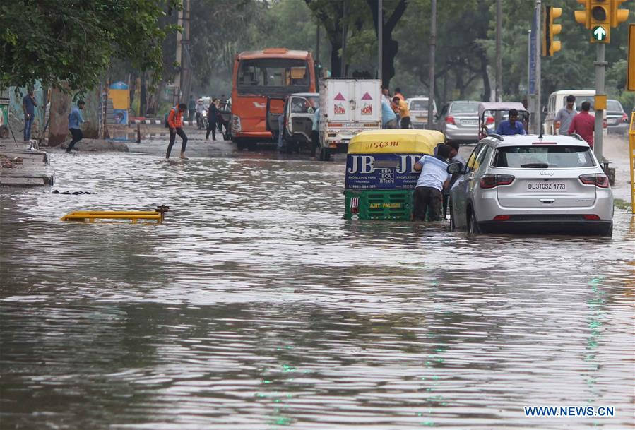 Heavy rainfall hits India