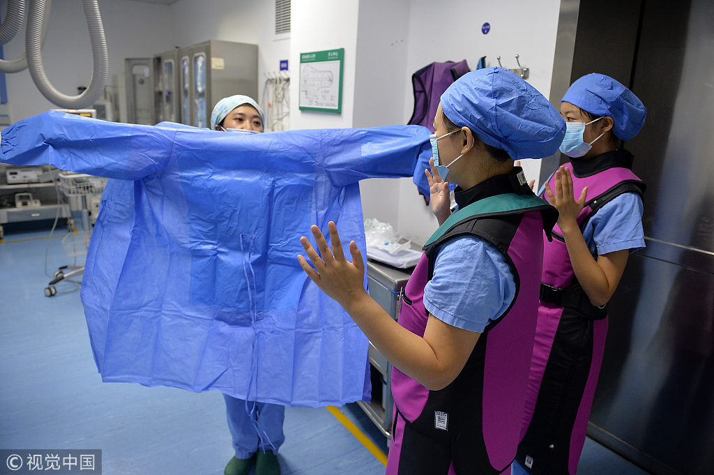 China marks 1st Medical Workers' Day on Aug. 19