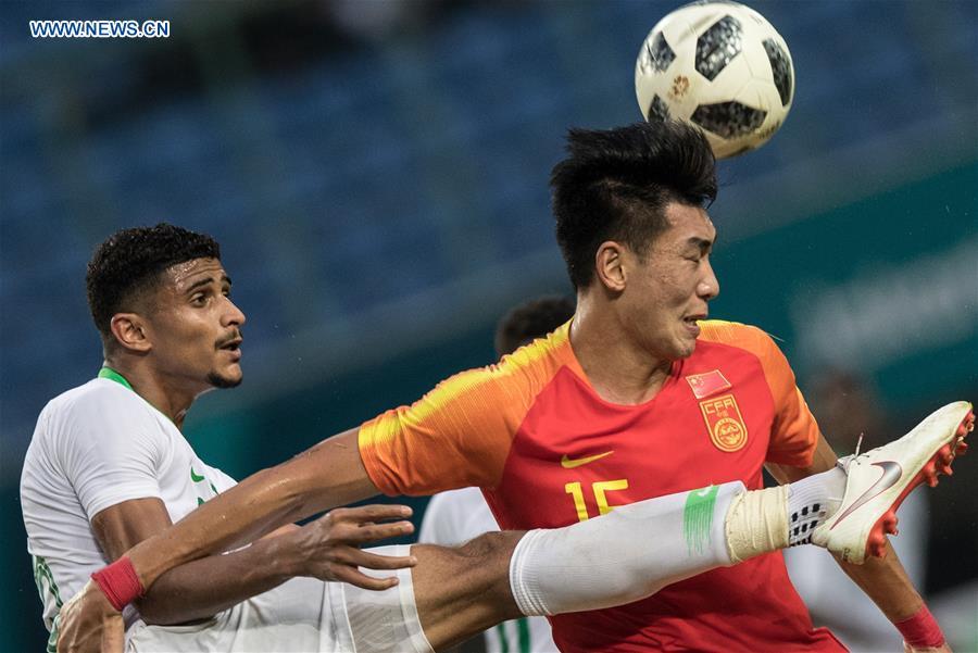 Highlights of men's football round of 16 match between China, Saudi Arabia at Asian Games 2018