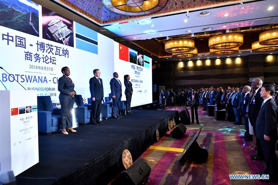 China-Botswana business forum held in Beijing
