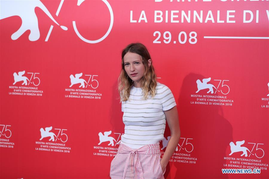 """Photocall for film """"Doubles Vies"""" held during 75th Venicel Film Festival"""