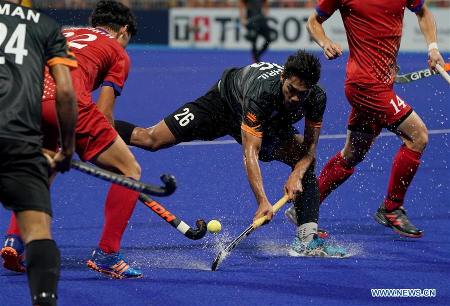 Malaysia, Japan compete in men's hockey final at Asian Games
