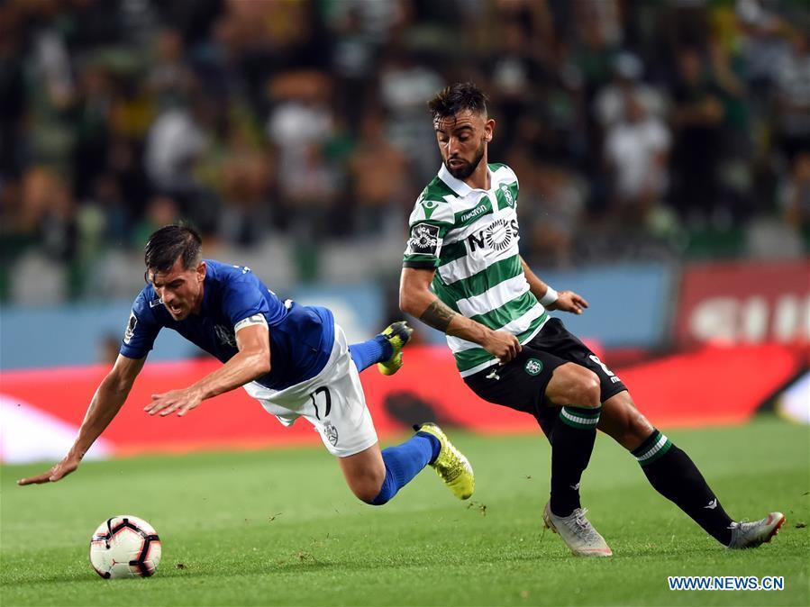 Sporting CP beats CD Feirense 1-0 in Portuguese League