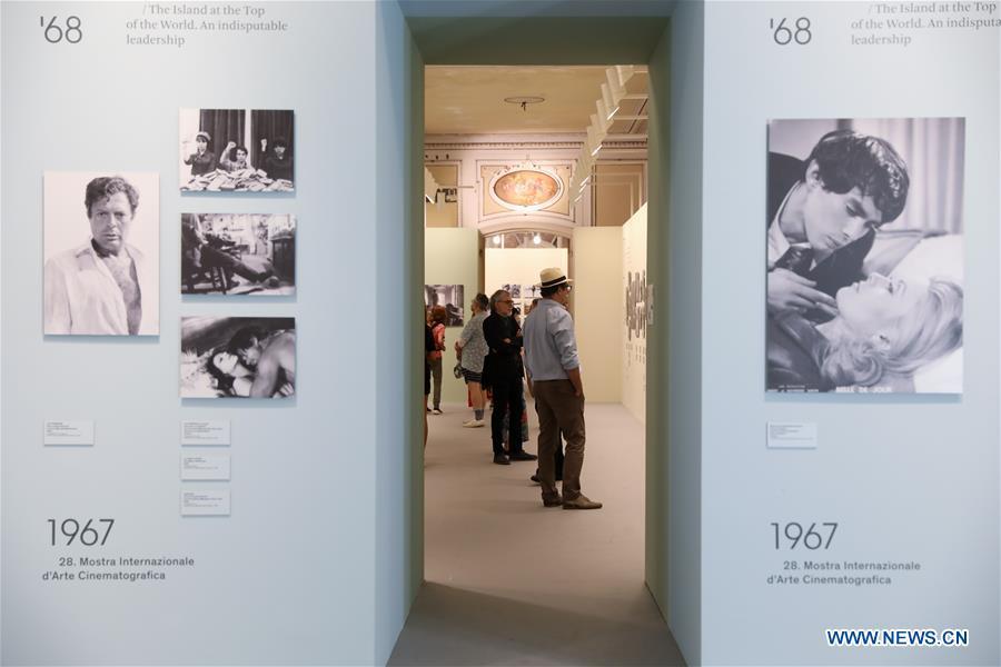 Photo exhibition on history of Venice Film Festival held