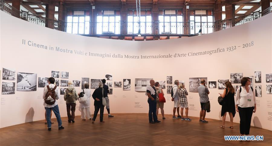 ITALY-VENICE-FILM FESTIVAL-PHOTO EXHIBITION-HISTORY