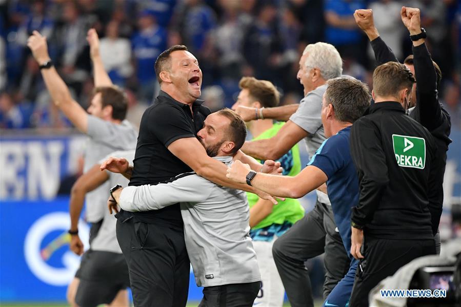 German Bundesliga: FC Schalke 04 vs. Hertha Berlin