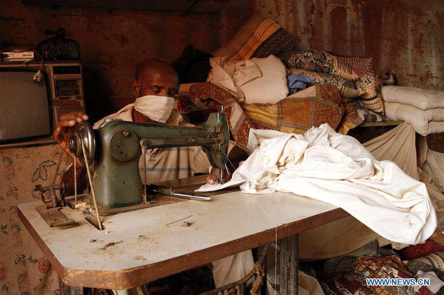 Cotton bed mattresses made in Omdurman, Sudan