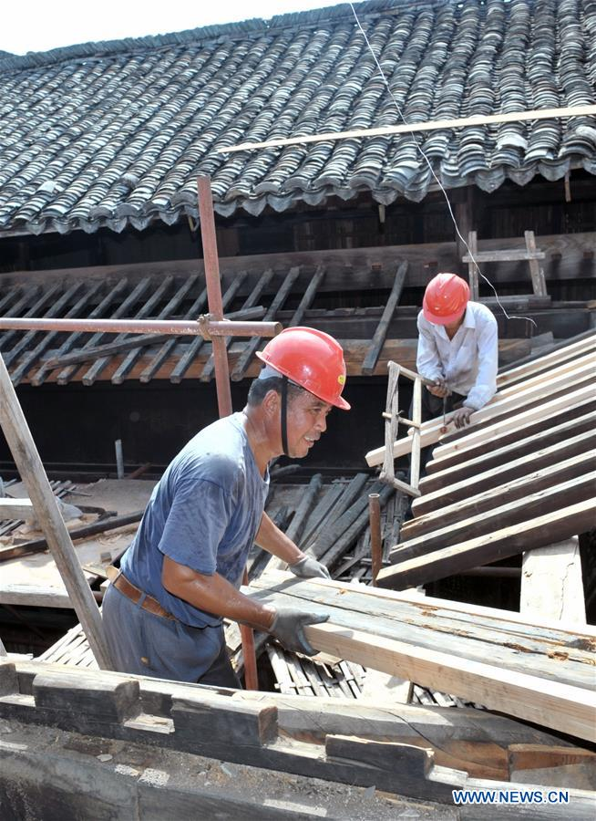 China's Anhui increases efforts to restore ancient buildings