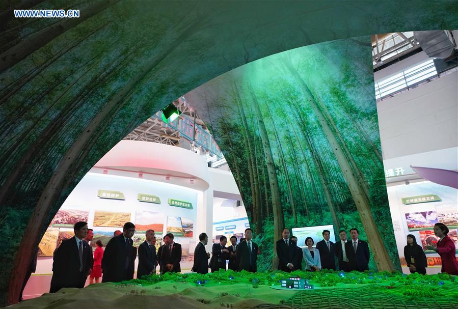 Exhibition celebrates 60th anniv. of NW China's Ningxia Hui Autonomous Region