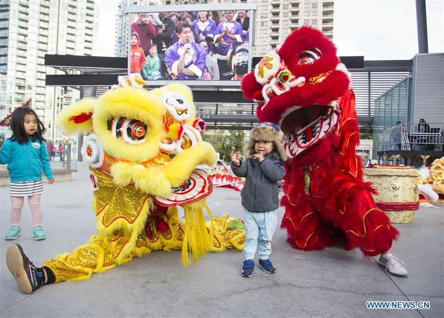 2018 Dragon Lion Dance Festival held in Ontario, Canada