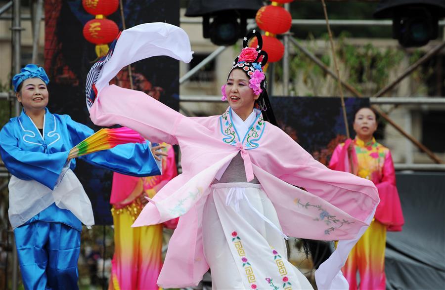 People across China celebrate 1st Farmers' Harvest Festival