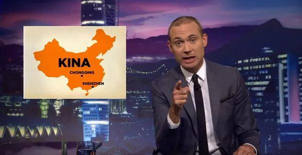 "Offensive Swedish TV show: China doesn't accept such ""humor"""