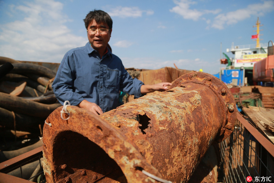 500 items collected from sunken warship in 1st Sino-Japanese War