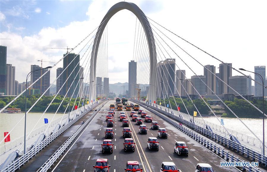 Baisha Bridge put into use in Liuzhou, S China