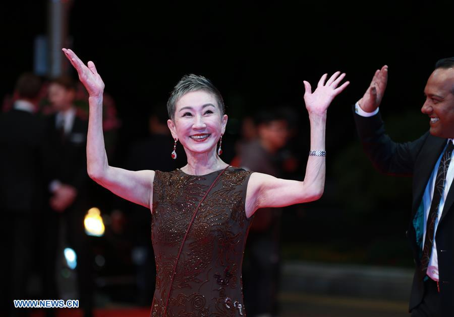 Stars shine at opening ceremony of 23rd Busan Int'l Film Festival in South Korea