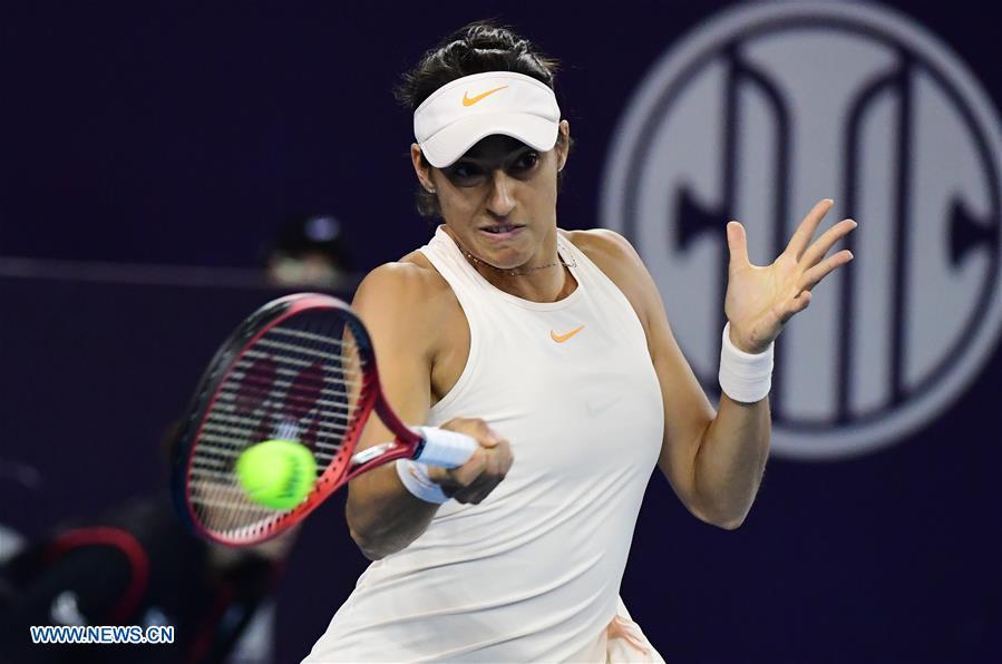 Sabalenka beats Garcia 2-1 at China Open