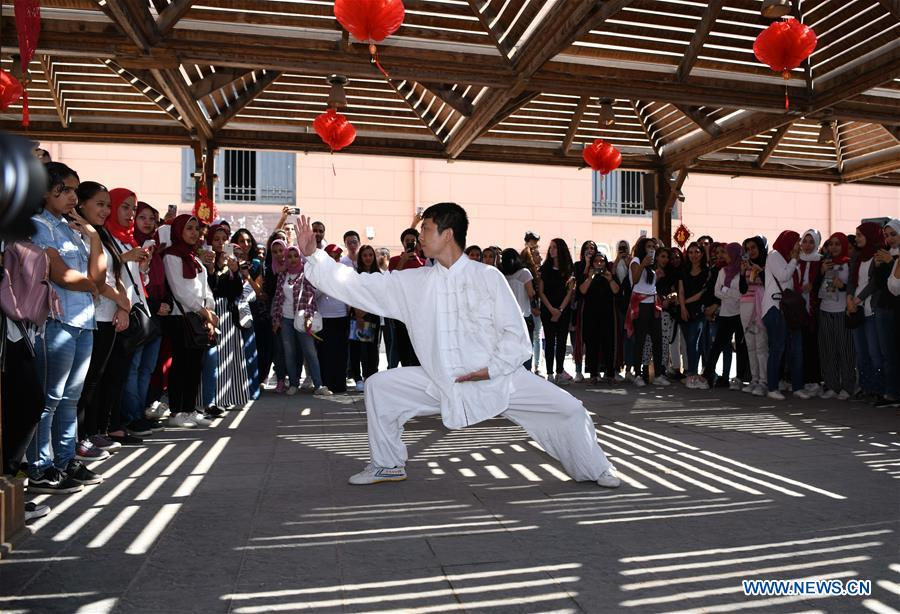 Chinese Culture Day of Confucius Institute held in Egypt