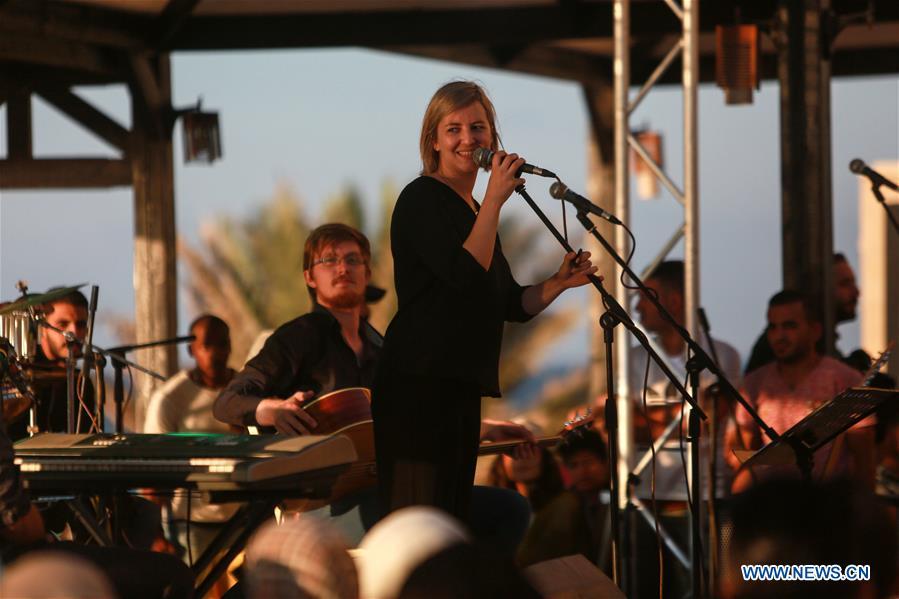 Jazz concert held in Gaza City