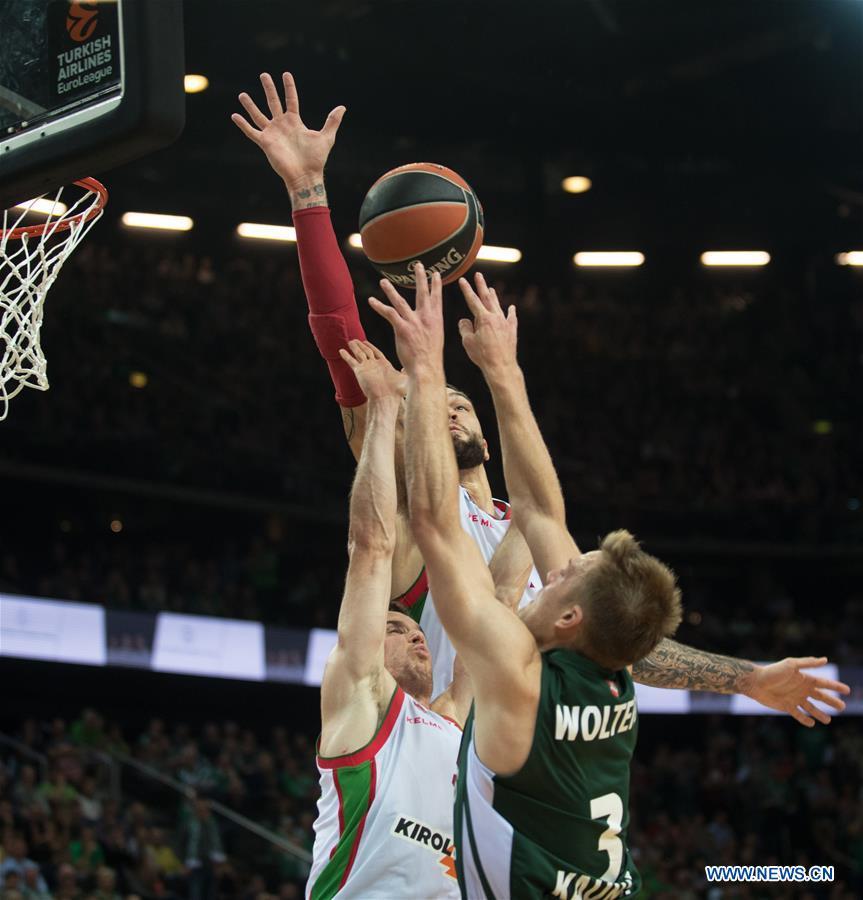 Highlights of EuroLeague basketball tournament