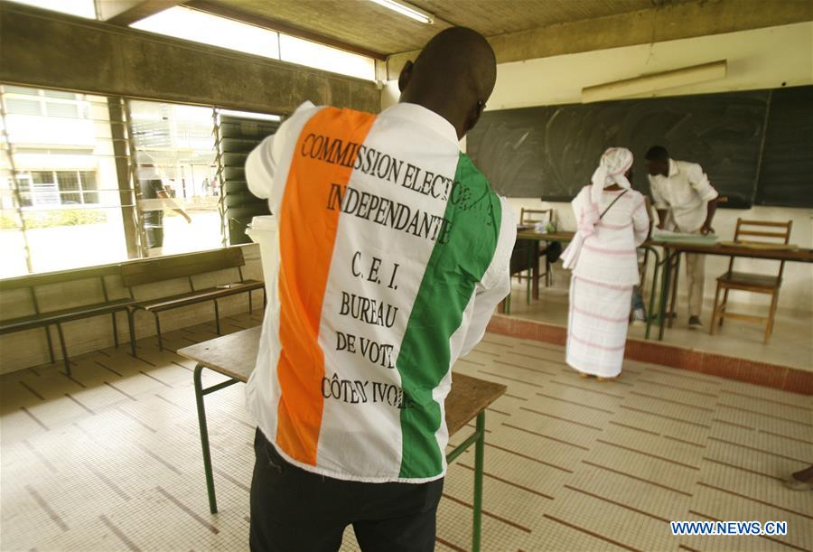 Voting operations for local elections in Cote d'Ivoire begins