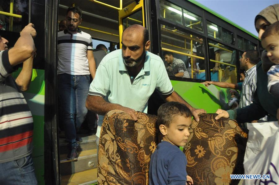 Syrian refugees prepare to return to Syria